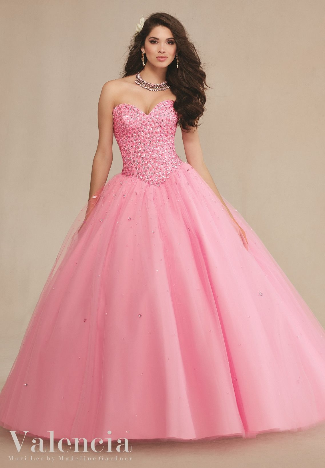 Mori Lee Valencia Quinceanera Dress 89087 | Vestiditos, Vestido de ...