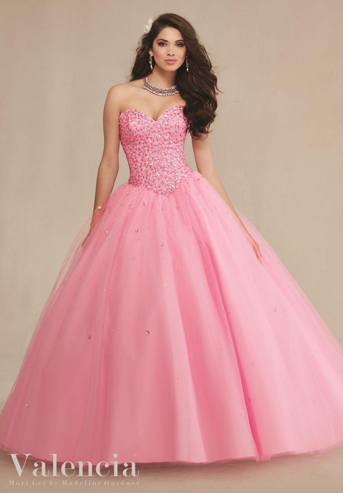Mori Lee Valencia Quinceanera Dress 89087 | Pinterest | Vestiditos ...