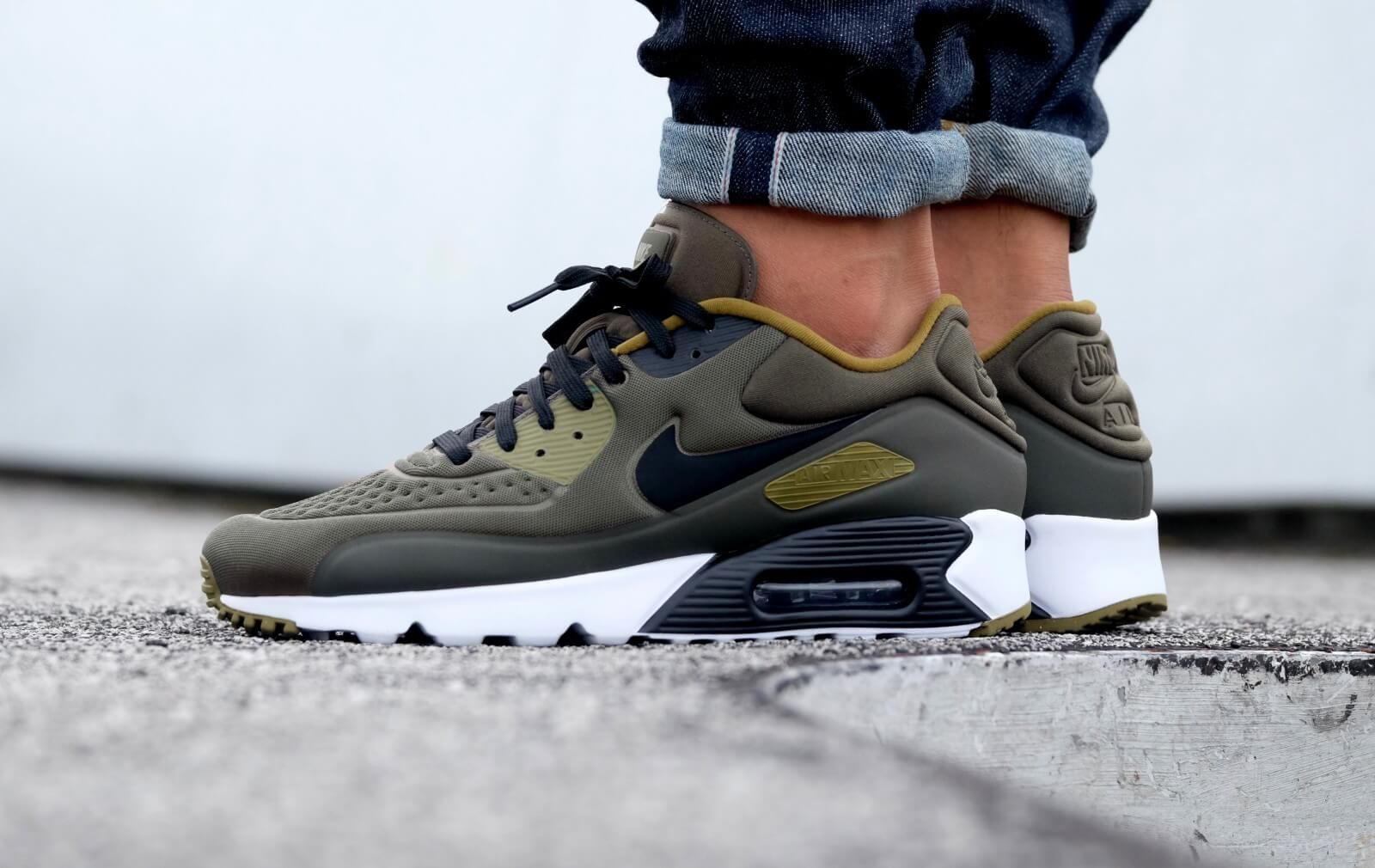 nike air max 90 essential kaki homme