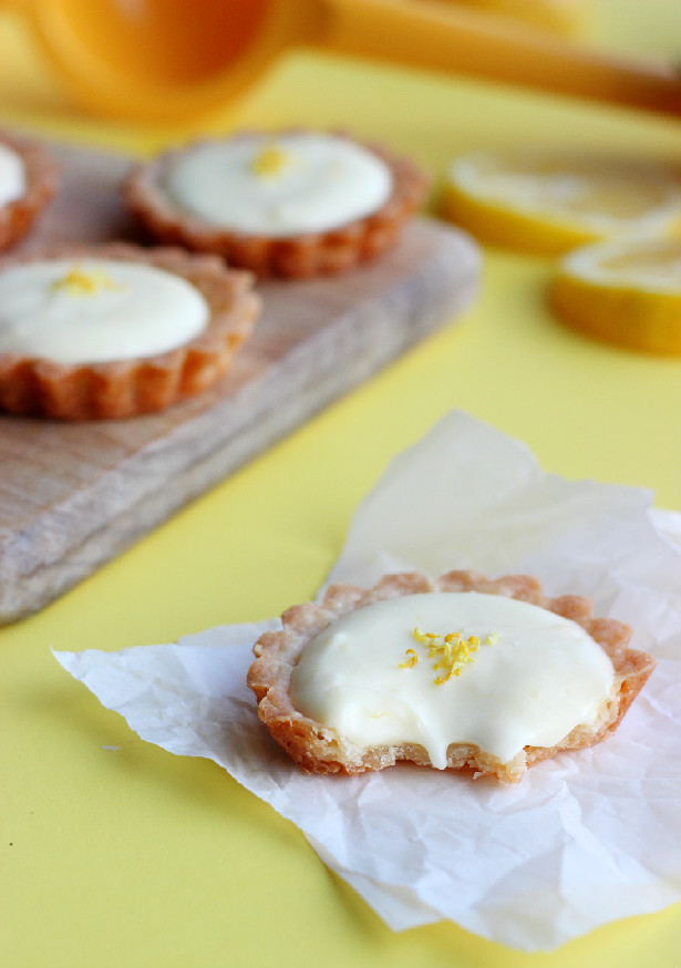 Culinary Couture: Lemon Cream Tartlets