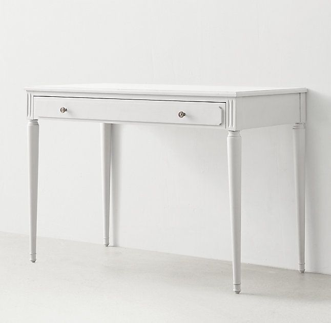 Maelin Writing Desk White Writing Desk Writing Desk Desk