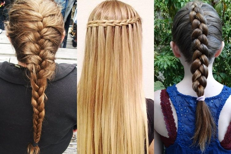 Braid Hairstyles 101 for the Girly You   Braid hairstyles, Nice ...