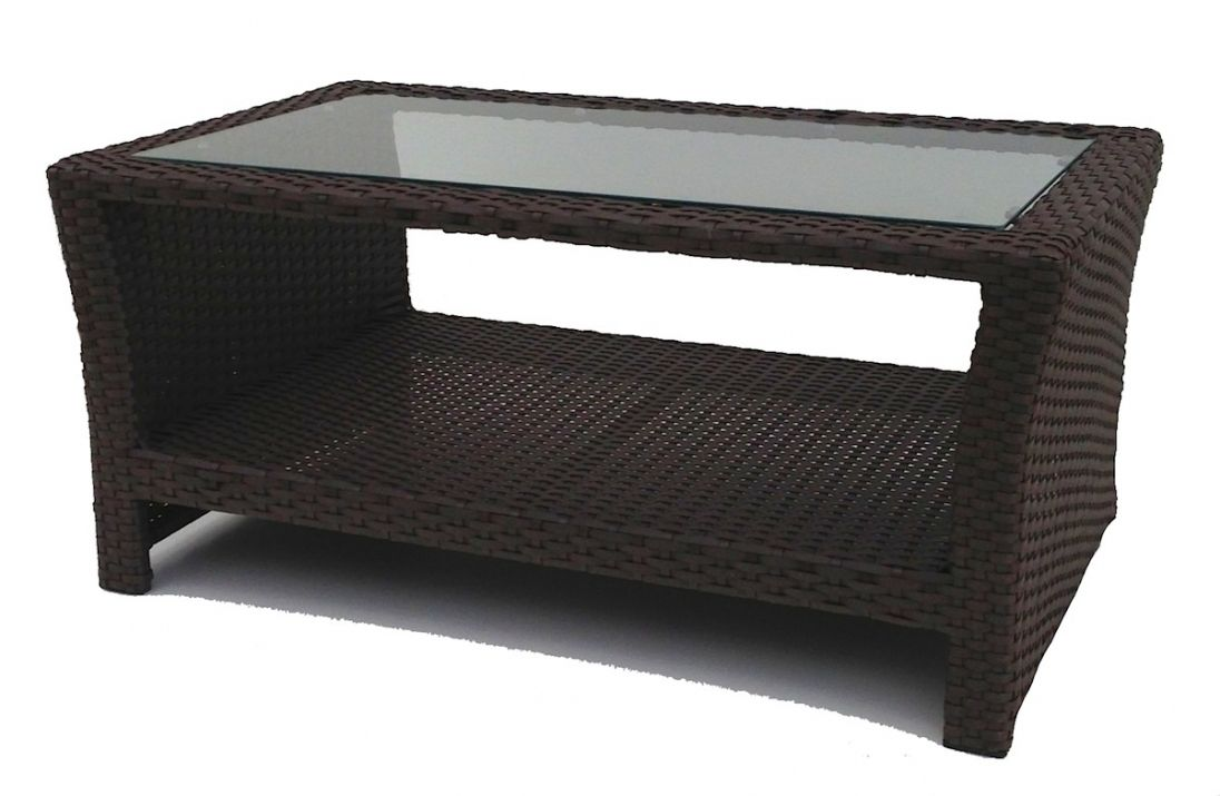 Outdoor Wicker Coffee Table With Gl Top Best Interior House Paint Check More At Http