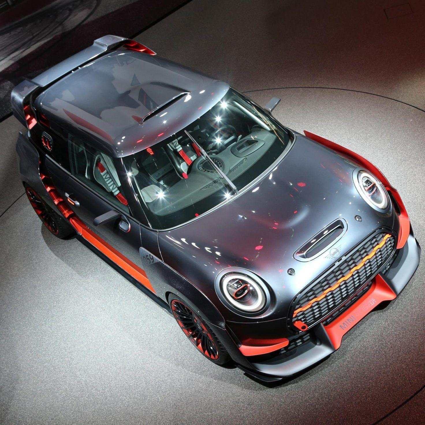 The MINI JCW GP Concept And MINI Electric Concepts Live At