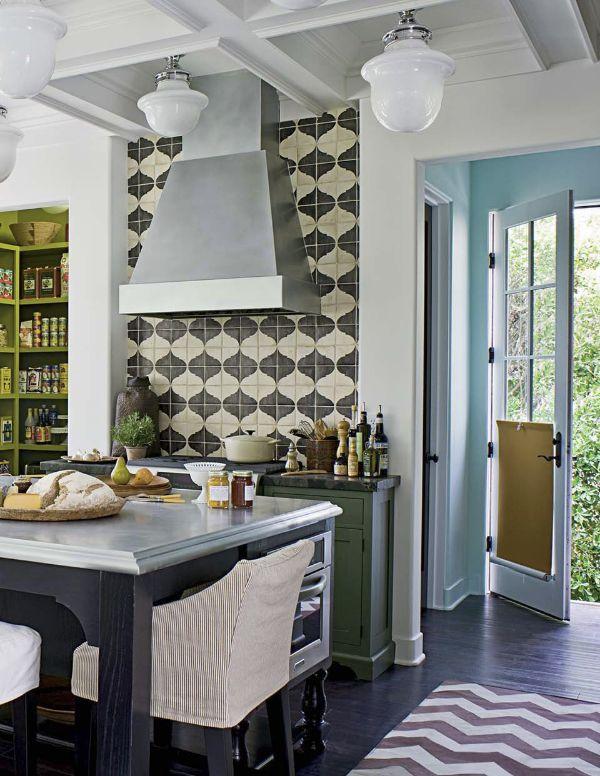 mix and match patterned tiles for a unique décor home decor interior design kitchen tiles on kitchen interior tiles id=63957