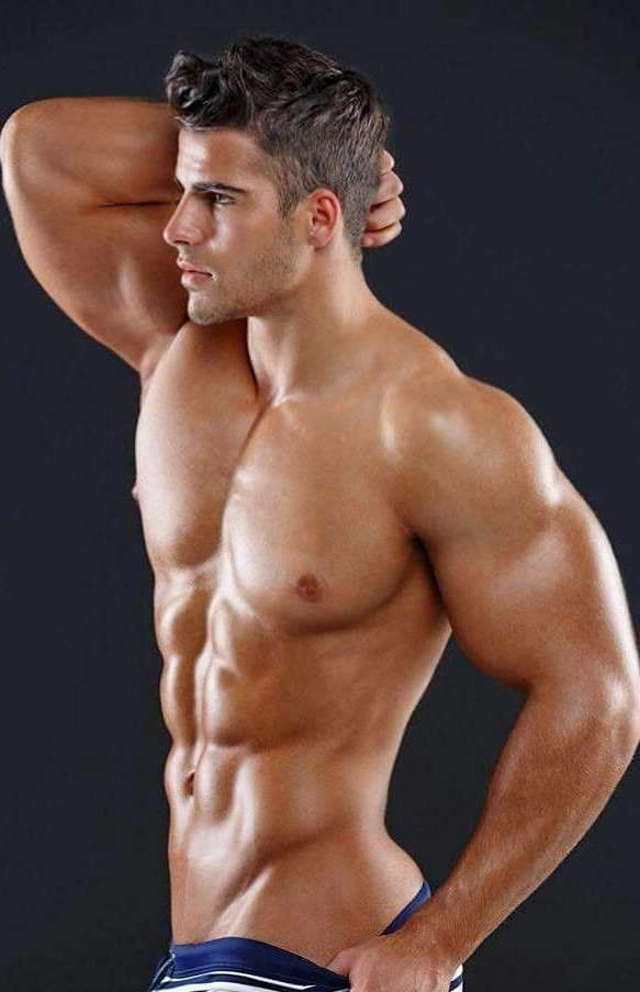 hot muscle man sex