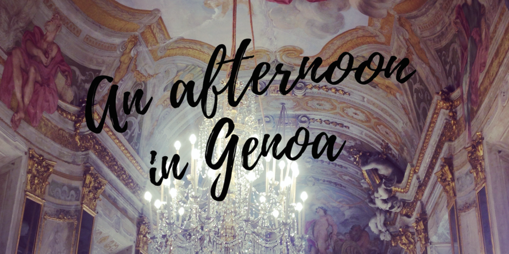 An afternoon in Genoa, one of Italy's best 'off the tourist map' cities.
