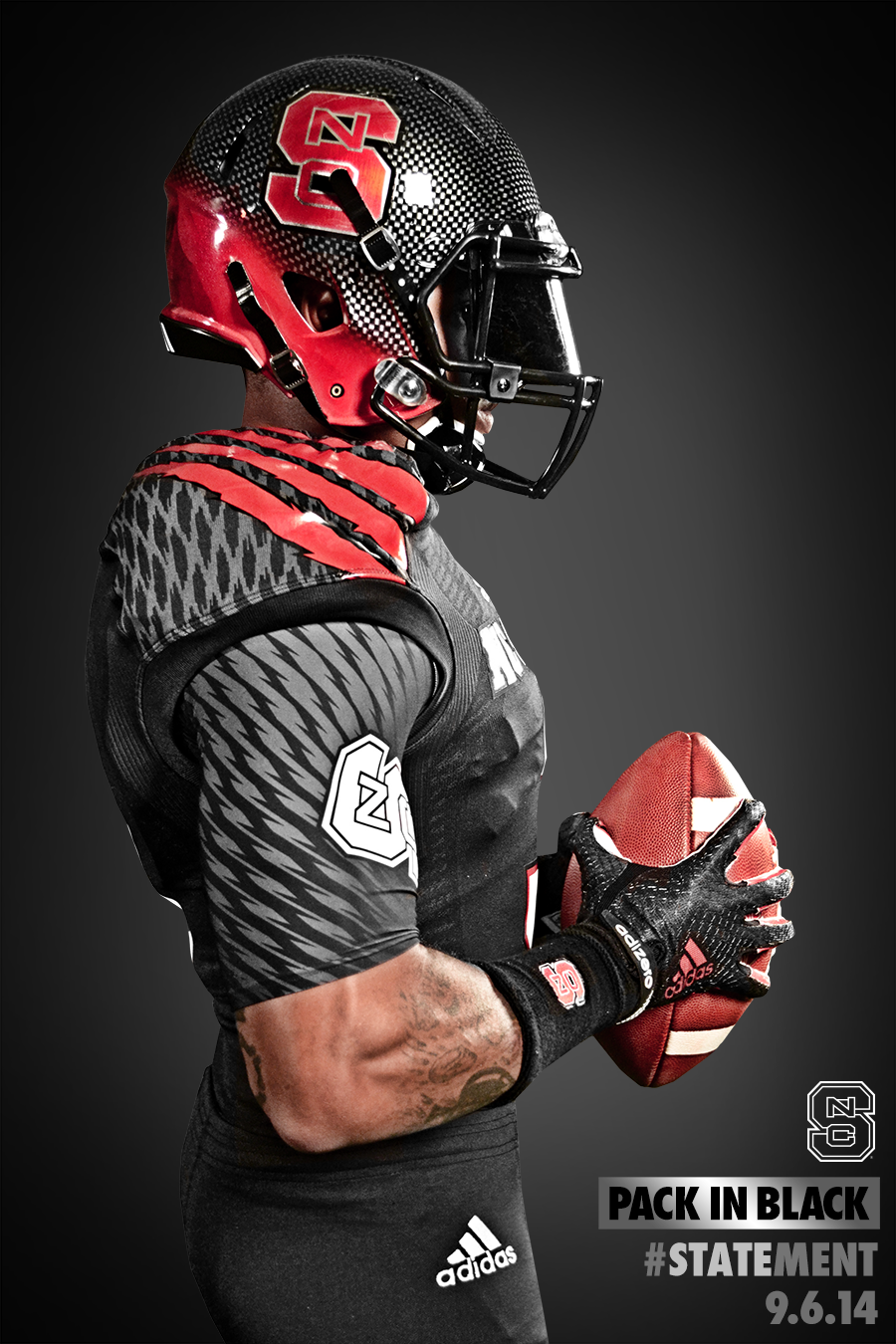 NC State Football Black Uniform Unveil  34eac80ea