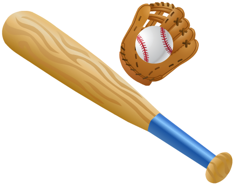 Free Softball And Baseball Clip Art Baseball Bat Sports Birthday Sports Birthday Party