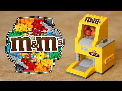 LEGO M&M's Candy Machine