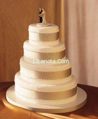 كعكة الزفاف 2014 اشكال تورتة الزفاف 2014 احدث اشكال كيكة العروس ليلة العمر عرو Traditional Wedding Cakes Champagne Wedding Cakes Traditional Wedding Cake
