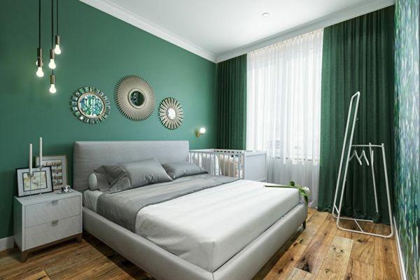 46+ Chambre verte et grise ideas