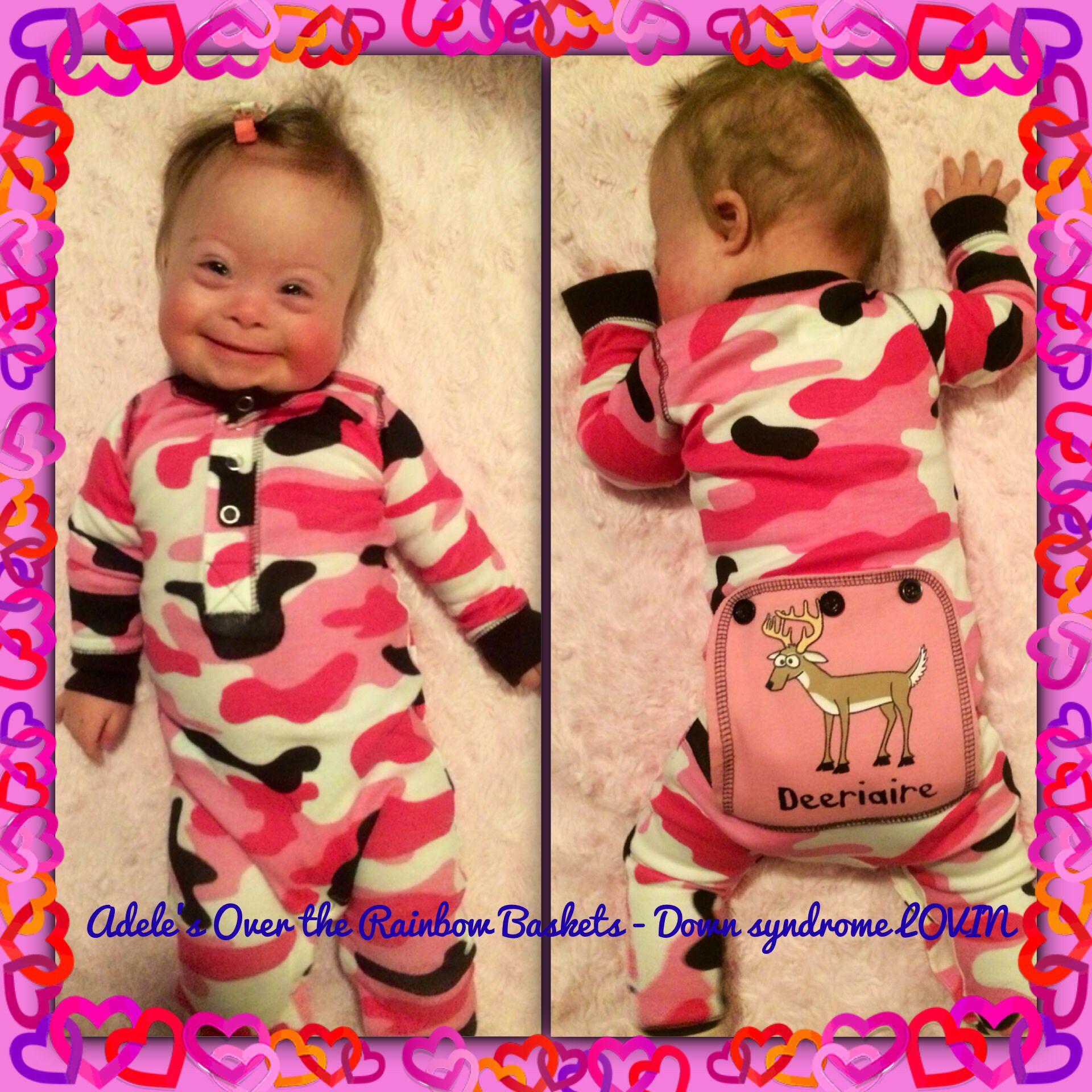 Down syndrome princess My new pyjamas