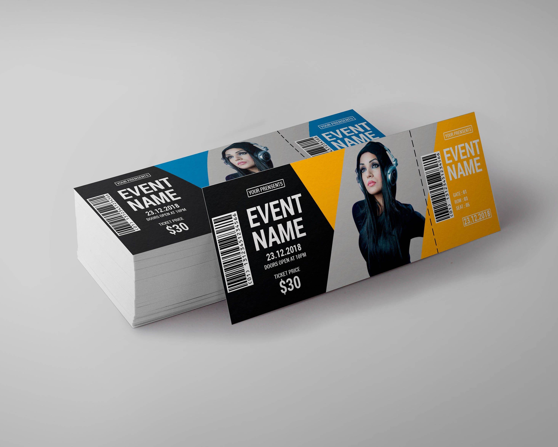 Tickets For Event Ticket Musical Ticket Custom Ticket Etsy Custom Tickets Musical Tickets Ticket Invitation