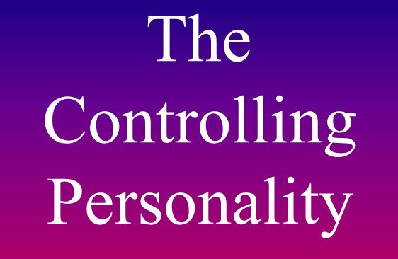 Of Controlling Characteristics What Are Person A The