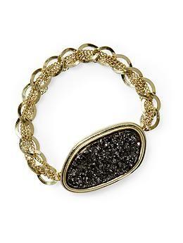 Hive & Honey Faux Pyrite Bracelet | Piperlime