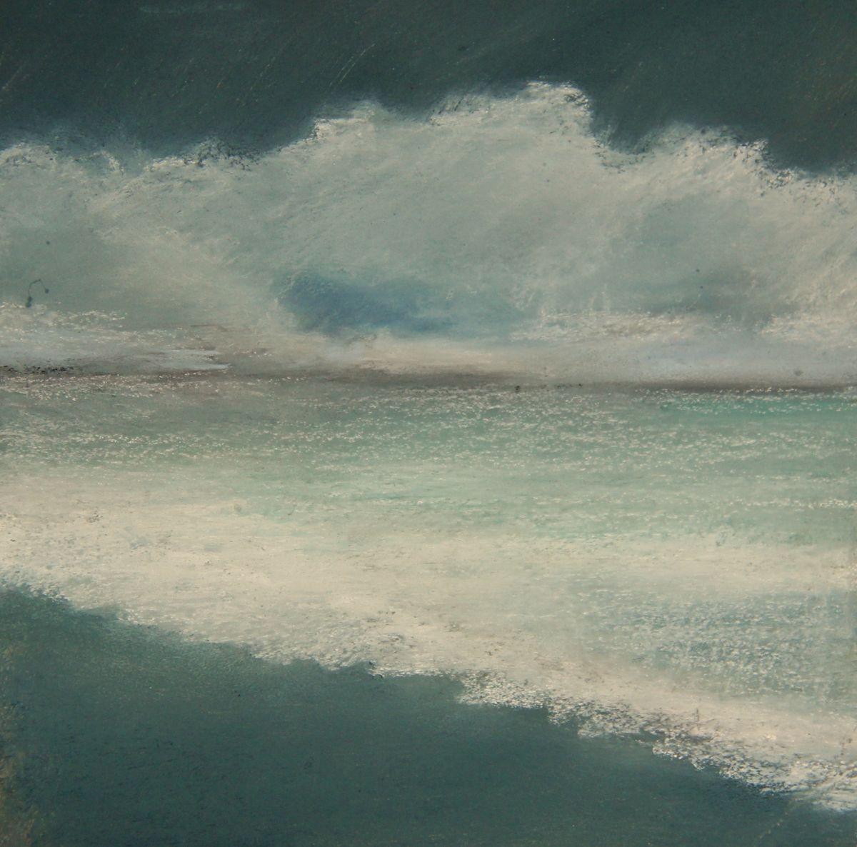 "Contemporary Painting - ""CALM BEFORE THE STORM"" (Original Art from Lesli Bonanni) $75"