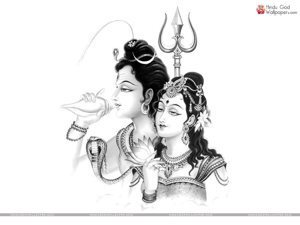 Lord shiva sketch wallpaper free download