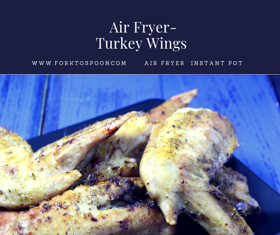 Air FryerAir FriedTurkey Wings Recipe Turkey wings