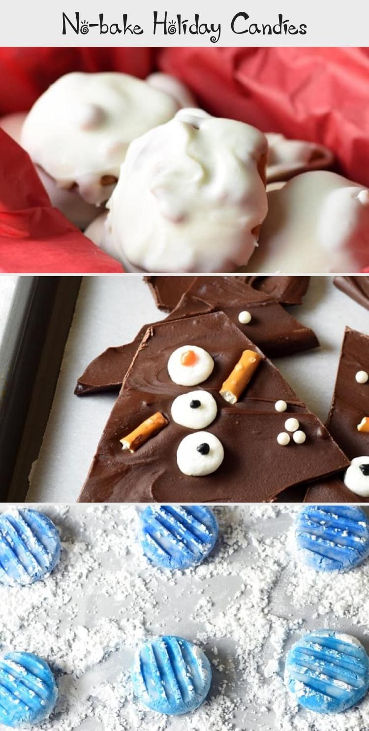 Photo of These No-Bake Holiday Candies are super easy, delicious, and free up your oven f…