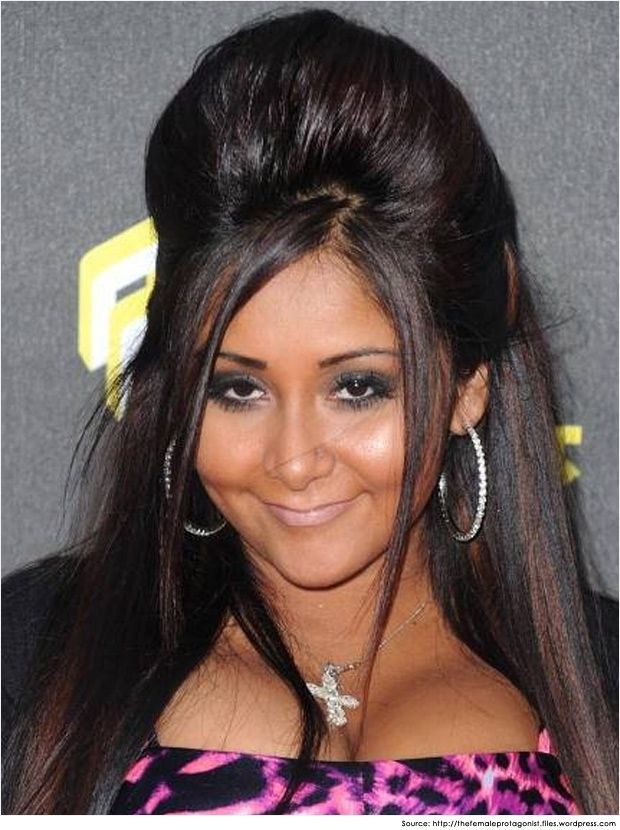 Snooki Puff Hairstyle I Feel Prettyoh So Prettyhairils