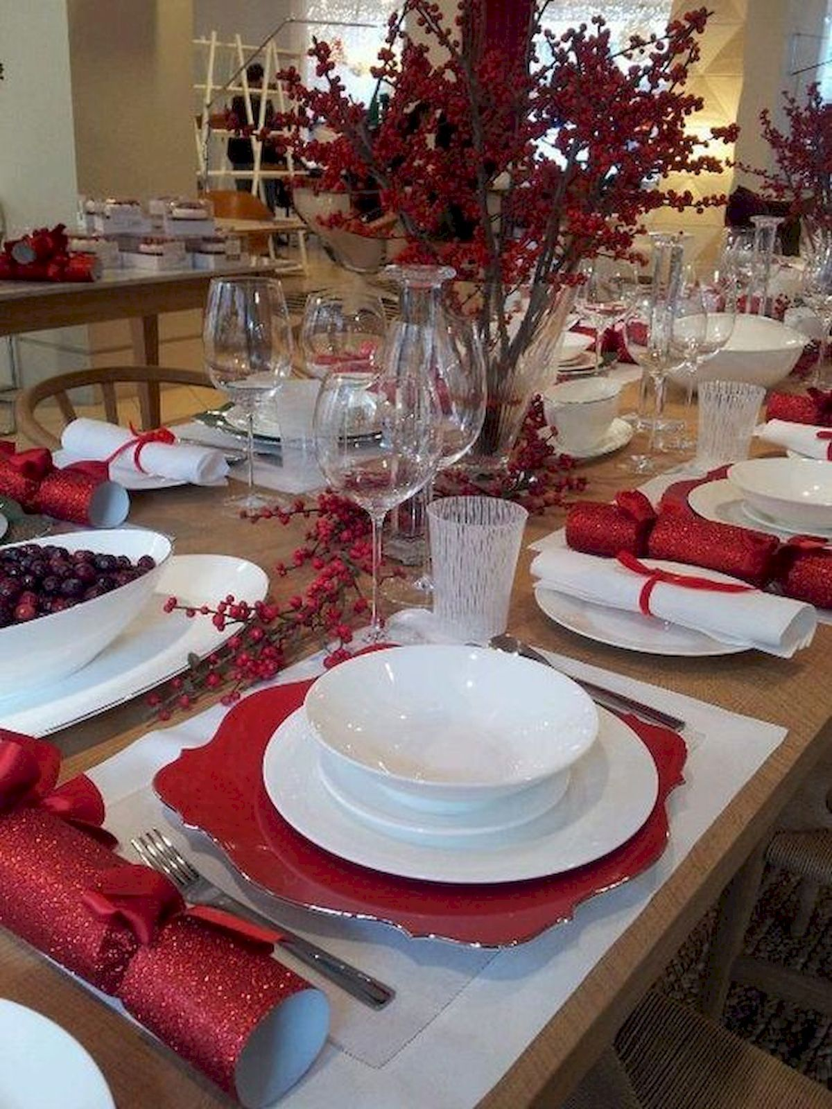 cool 50 stunning christmas table dining rooms decor ideas https coachdecor com