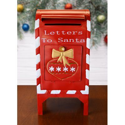 The Holiday Aisle Letters To Santa Mailbox Santa Letter