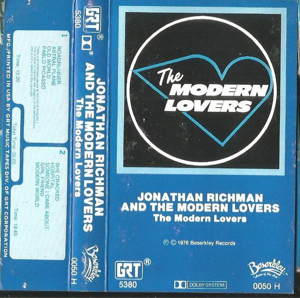 The Modern Lovers The Modern Lovers Cassette Album Discogs The Modern Lovers Lovers Modern