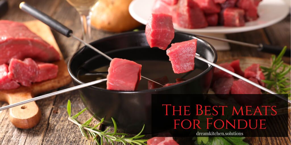 What Are the Best Meats for Fondue? #brothfonduerecipes