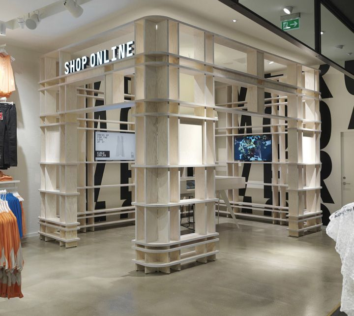 Beautiful Vero Moda Flagship Store By Riis Retail, Aarhus U2013 Denmark