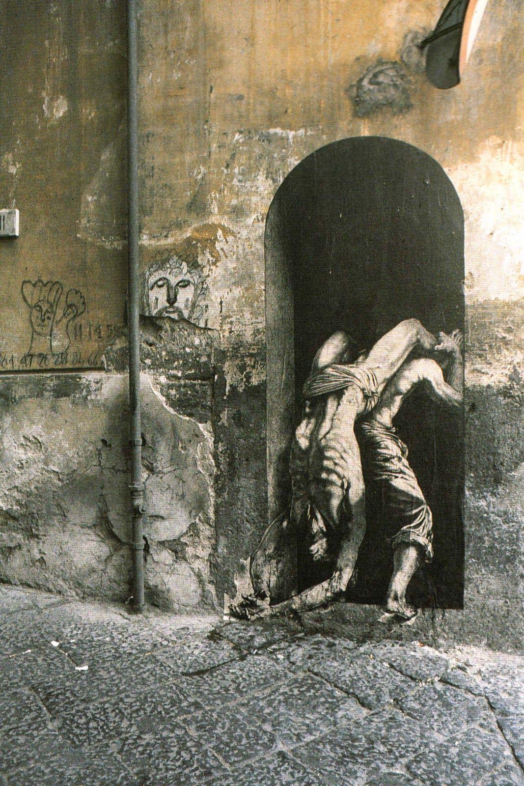 Ernest Pignon, un pionero en el arte urbano   OLDSKULL