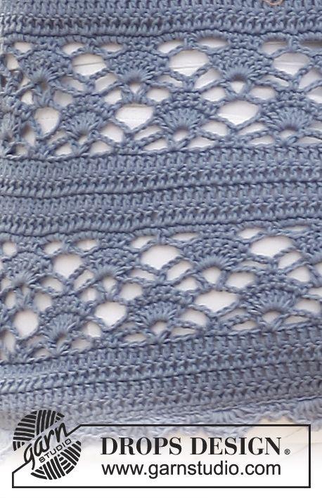DROPS Pattern Library: Crochet patterns | Puntos en crochet y libros ...