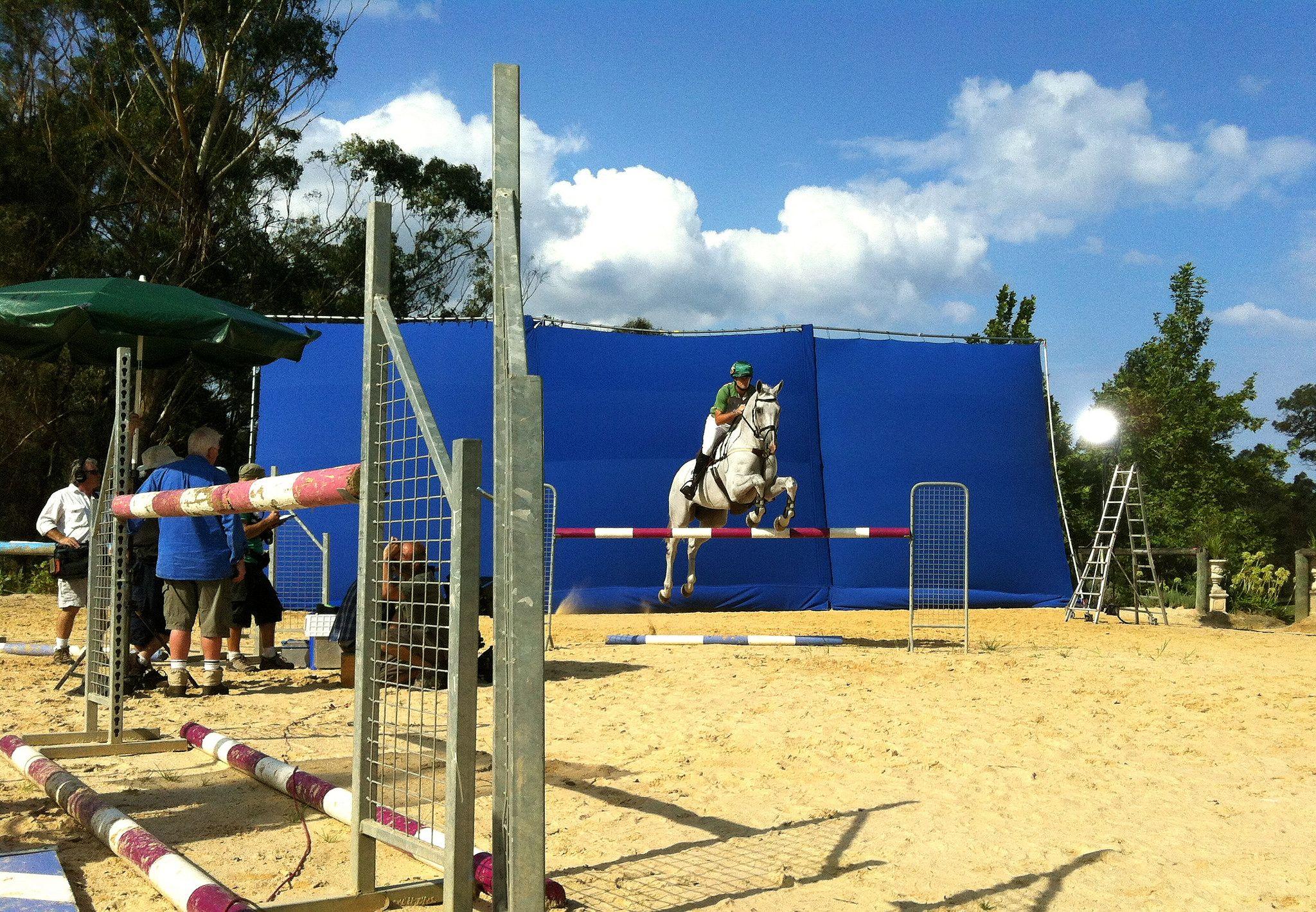 Olympics Commercial Bluescreen. Equestrian by Joseph Pole VFX Supervisor | #Olympics #Bluescreen #Equestrian #JosephPole #VFXSupervisor