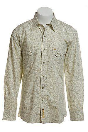 Larry Mahan Mens L/S Western Snap Shirt LM1130707
