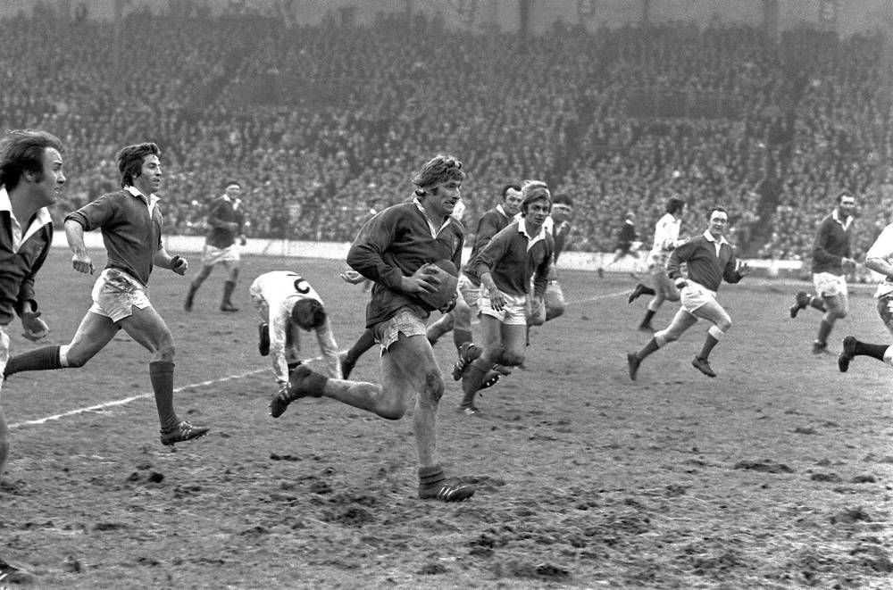 Match Rugby Tournoi Des 5 Nations France Angleterre 1972 Photo Et Tableau Editions Limitees Achat Vente France Angleterre Match De Rugby Rugby