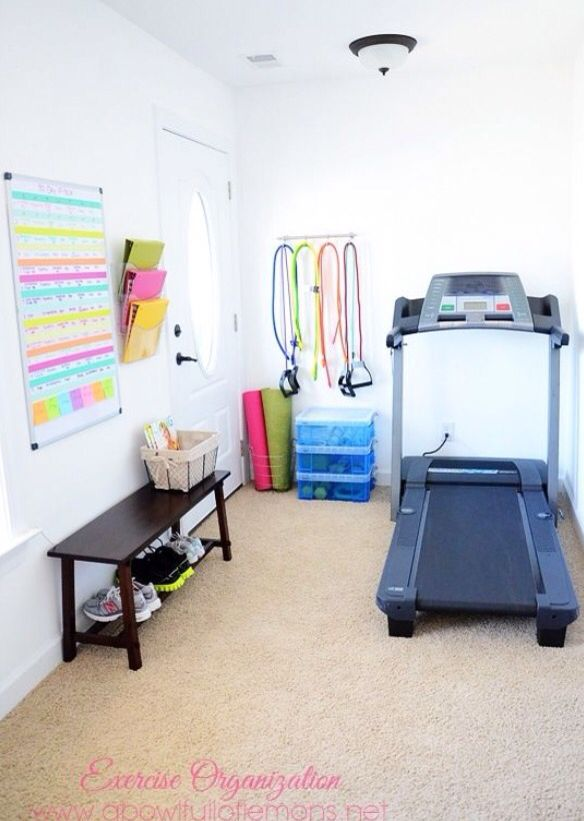 Get Inspired To Work Out With These 8 Extremely Organized