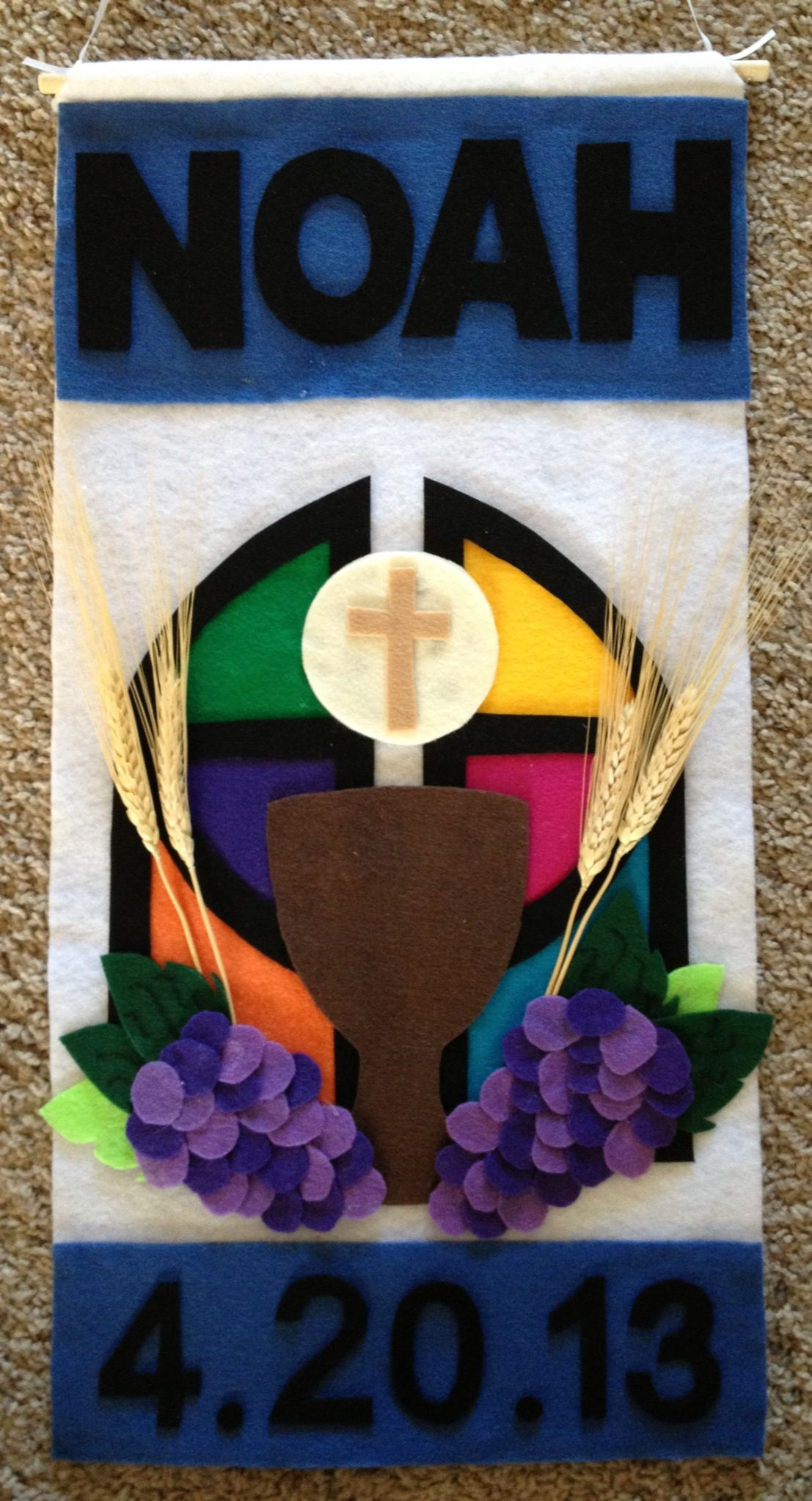 Pin On First Holy Communion Pew Banner