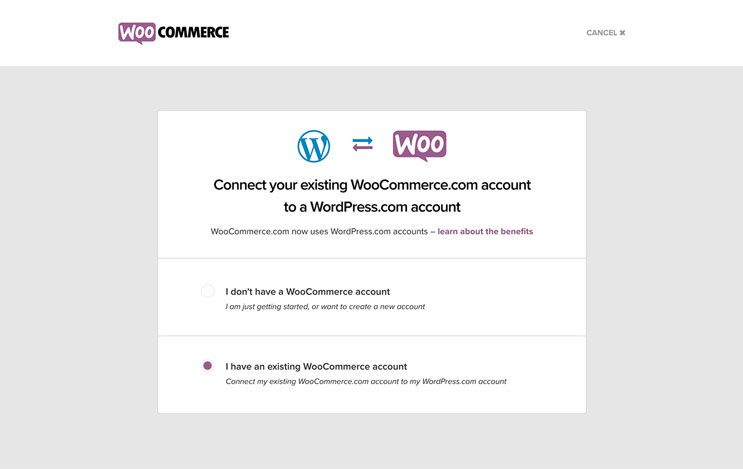 account associated with wrong WordPress
