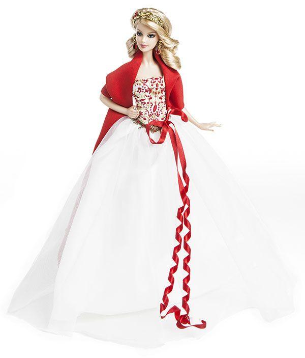 Barbie Noel 2010 25ans de Barbie Collector Joyeux Noël – rétrospective | Barbie