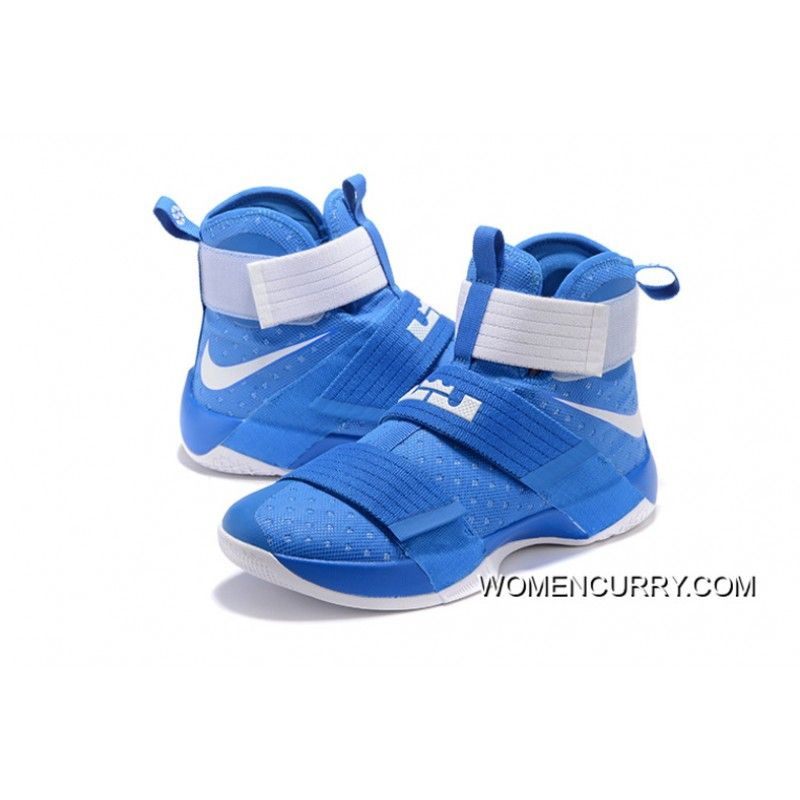 "a441a24be6d ""Kentucky"" Nike Zoom LeBron Soldier 10 Game Royal-White Online Discount  Nike Shoes"