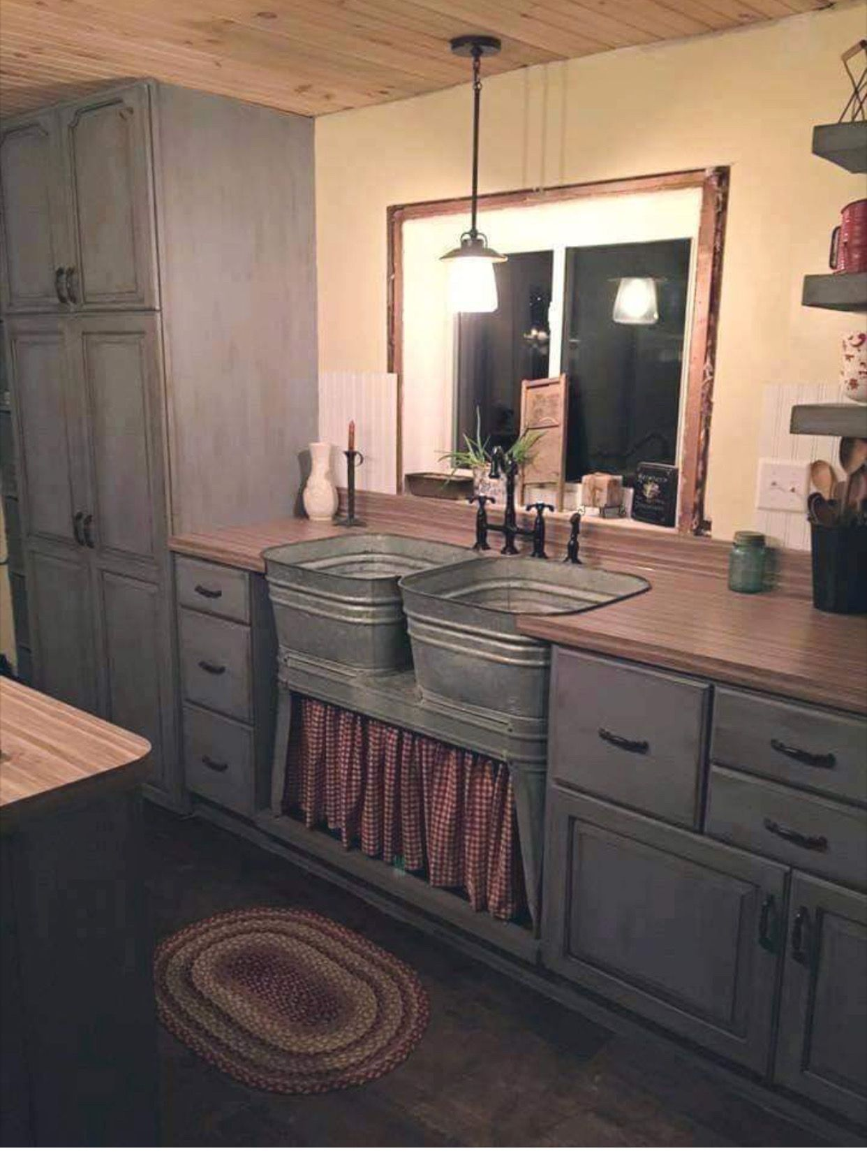 Farmhouse Sink Kitchen