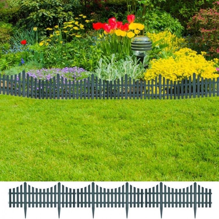 Details About Garden Fence Panel Green Lawn Divider Plant Border