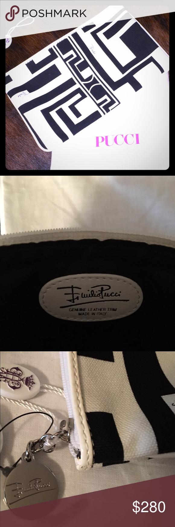 Emilio Pucci Cosmetics Bag NWT Brand New!  Authentic.  Retails $350 Emilio Pucci Bags Cosmetic Bags & Cases