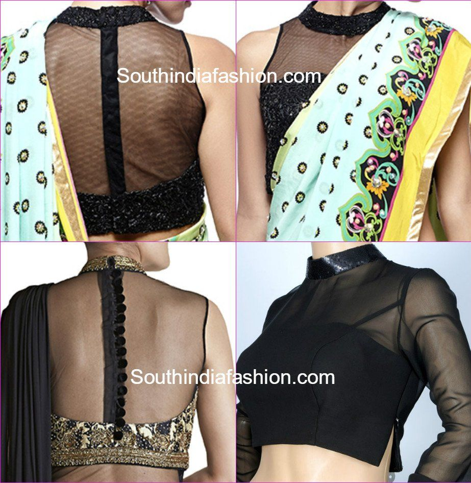 Stunning Net Blouse Designs Netted Blouse Designs Blouse Design