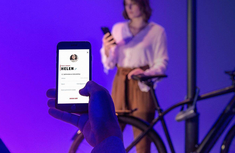Abus 770a Smartx Fahrradschloss Mit App Steuerung Und Alarmanlage