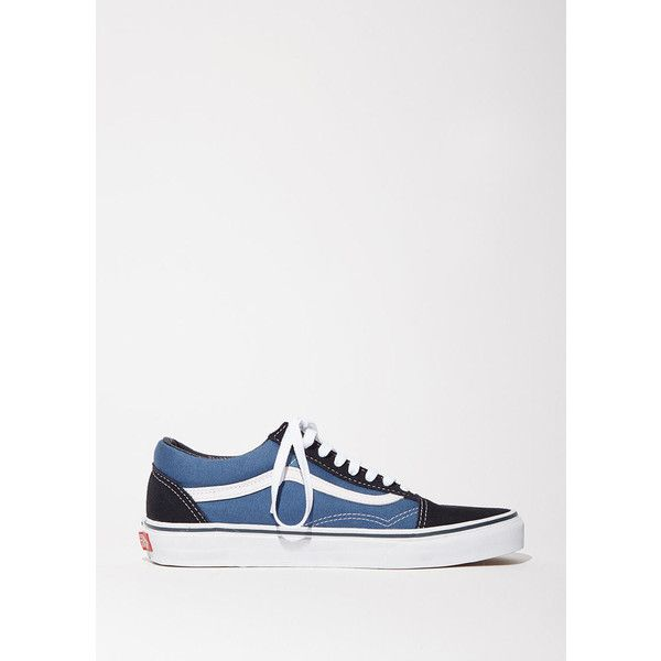 131d816595f886 Vans Old Skool Sneakers (£45) ❤ liked on Polyvore featuring shoes ...