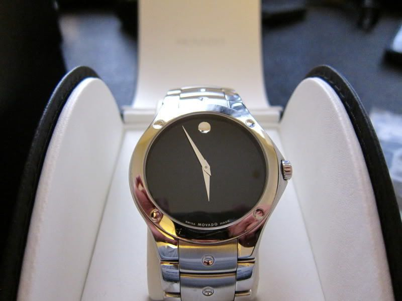 8f3dabb41f3 New Movado SE Sport Edition Mens 0605910 Two Tone Tone Swiss Made Watch