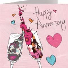 Happy Anniversary by Julia Hook