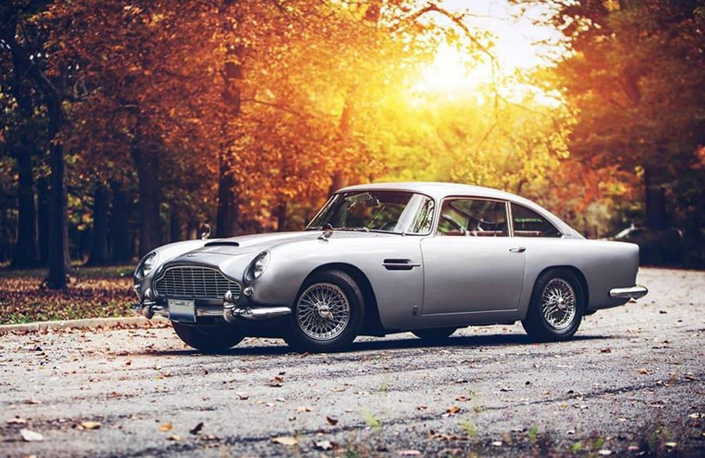Aston Martin DB5 | Investing  As Seen In: Goldfinger, Thunderball Year: 1964, 19…