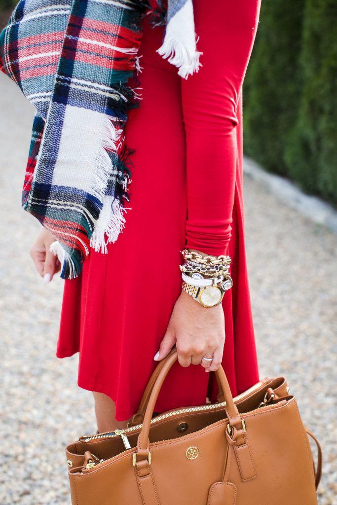 outfit christmas plaid scarf shop dandy shop dandy blog just dandy by danielle - Christmas Plaid Scarf